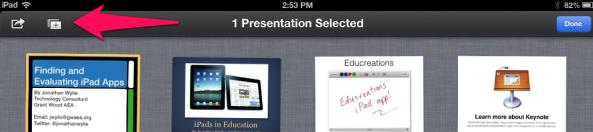 Duplicate Templates in Keynote