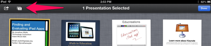 Duplicate Templates in Keynote