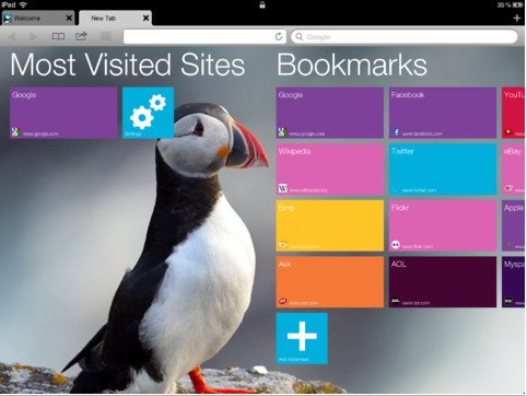 Puffin Web Browser iOS
