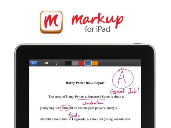 Markup for iPad
