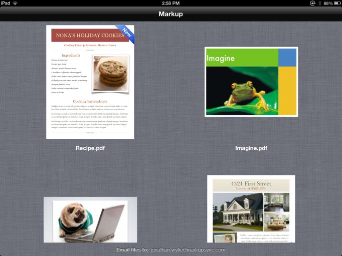 Markup File Browser