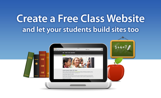 if you are looking to create a classroom website with a free website builder take a look at weebly its ad free full of customization options