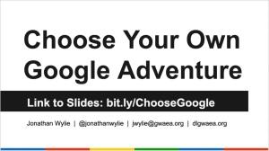 cyoa-google-adventure