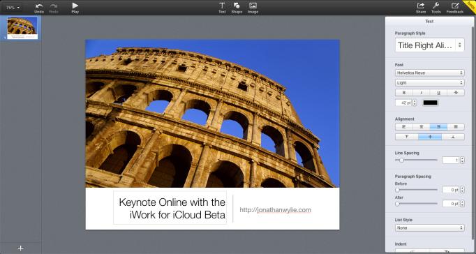 Keynote Slide