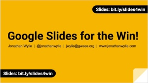 slides-for-the-win