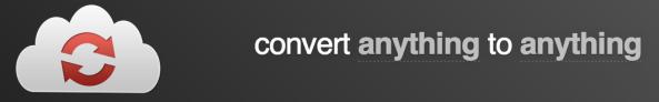CloudConvert for converting files