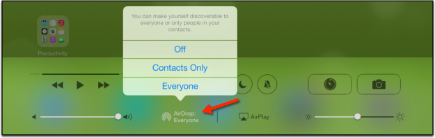 airdrop for iOS 7