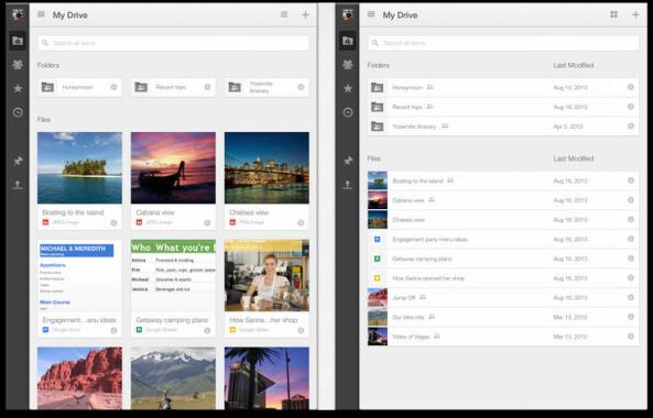 Google Drive iPad App Update