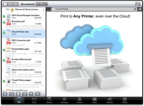 print central for ipad printing