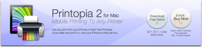printoipia for how to print from an iPad