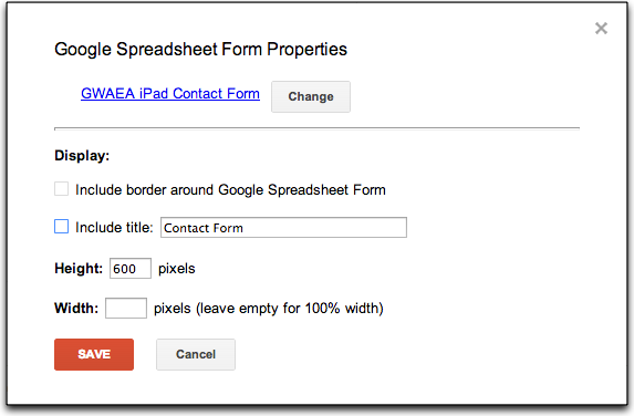 Using Google Forms for a Contact Page on Google Sites – Jonathan Wylie