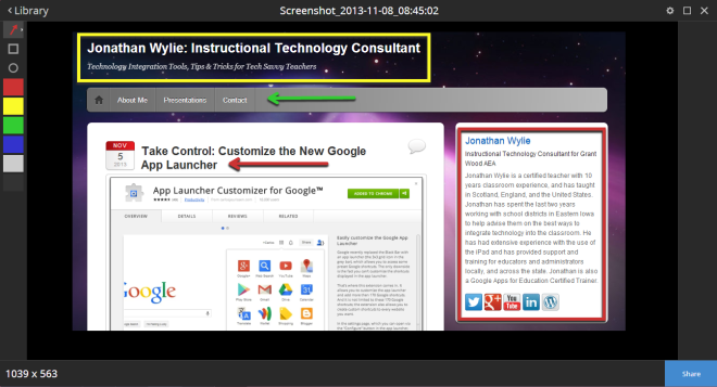 Snagit for Chrome App
