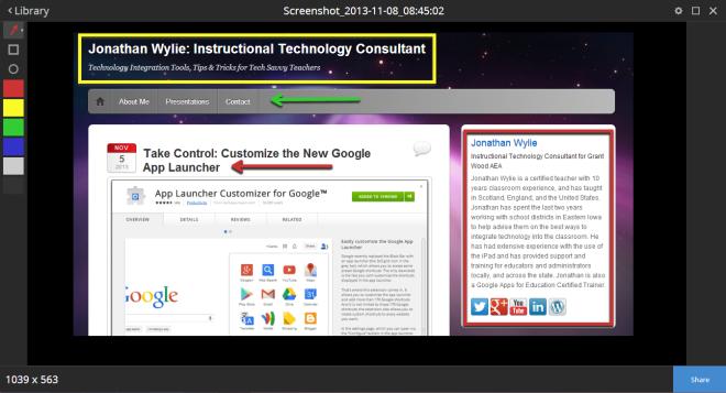 Snagit for Chrome App