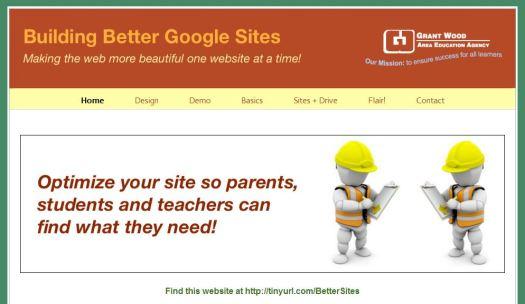 Better Google Sites