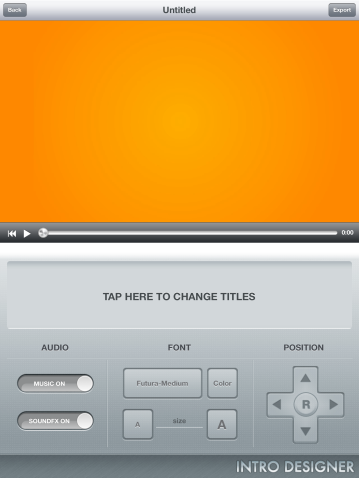 Intro designer for ipad free imovie video effects on ios jonathan edit fonts and sound maxwellsz