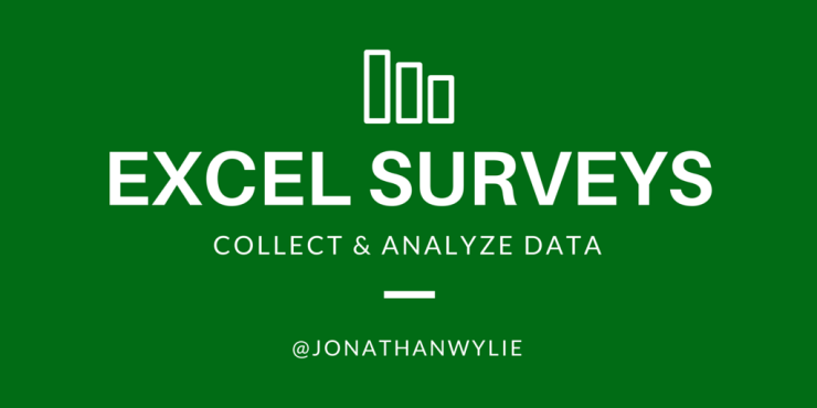 How to Collect Data with an Excel Survey & Office 365