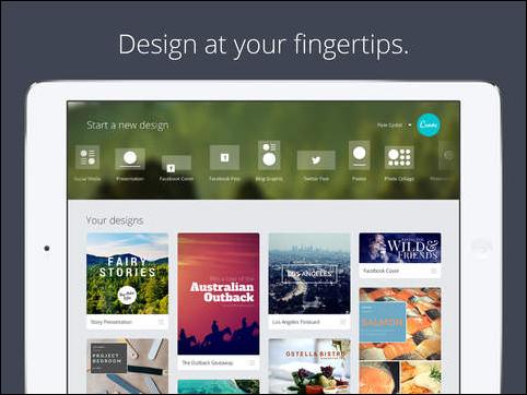 canva for iPad