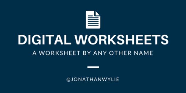 digital worksheets