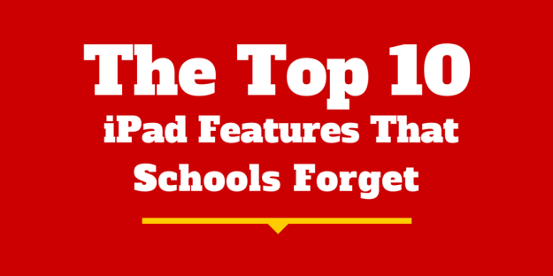 The 10 Best Forgotten iPad Features for