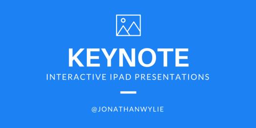 interactive keynote ipad