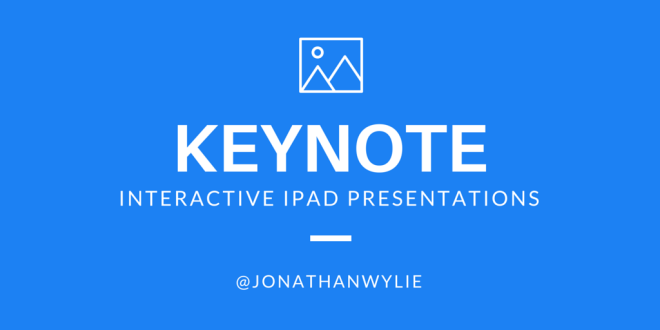 interactive keynote ipad