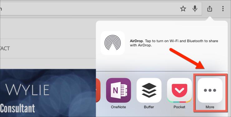 share more icon ipad