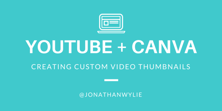 youtube thumbnails on canva