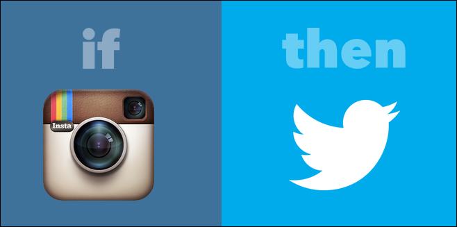 ifttt instagram to twitter