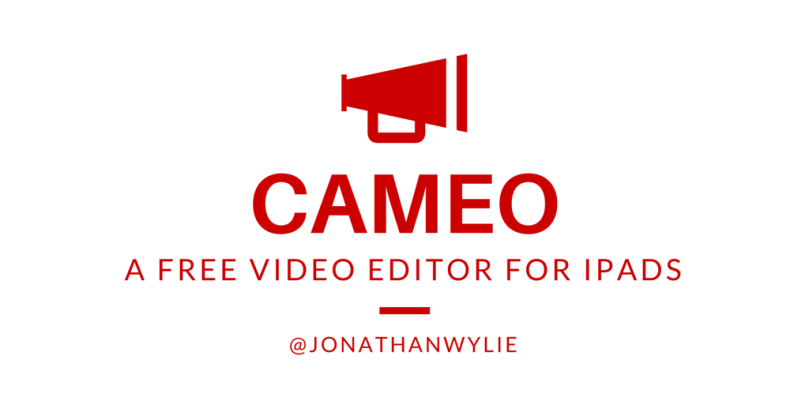 cameo video editor for ios