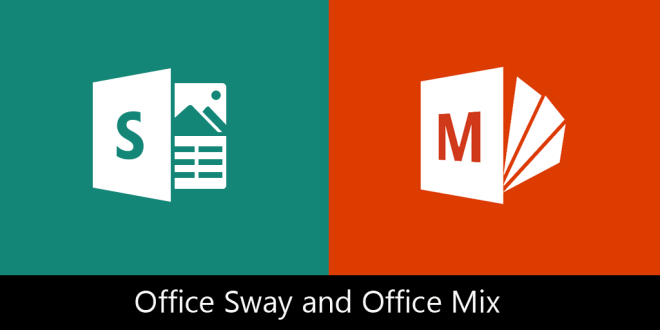 Office Mix & Office Sway Logos