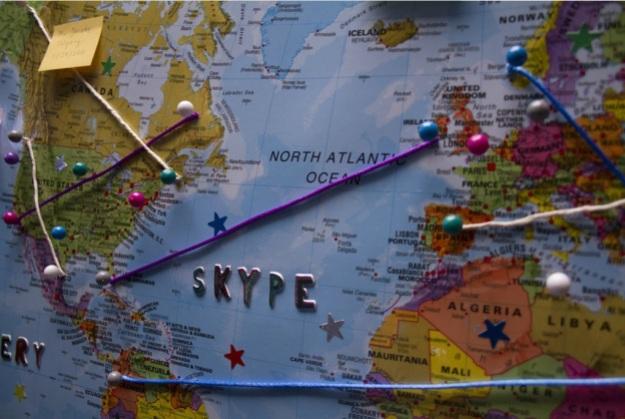 skype globe