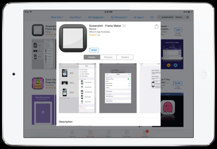 Screenshot frame maker ios