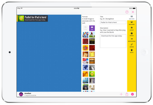Padlet for iPad