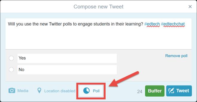 twitter polls screenshot