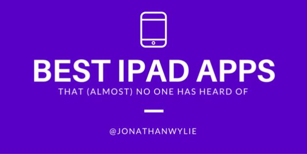 best ipad apps title