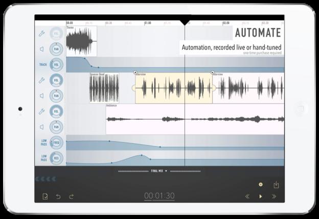 Ferrite Recording Studio iPad App