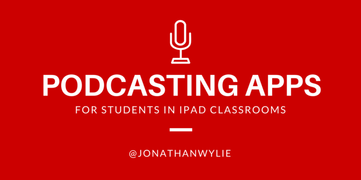 ipad podcasting apps title