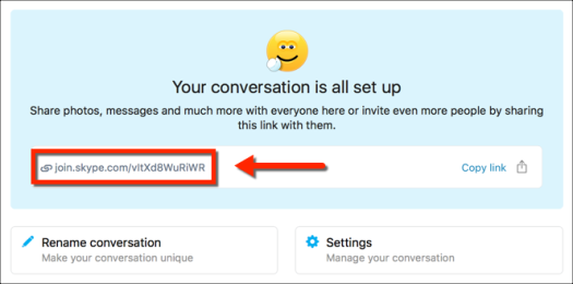 skype join by link