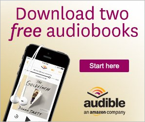 2 Free Audible Books Offer