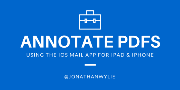 Mark Up PDFs With Apple's Mail App for iPad & iPhone