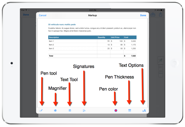 Mark Up PDFs With Apple's Mail App for iPad & iPhone – Jonathan Wylie