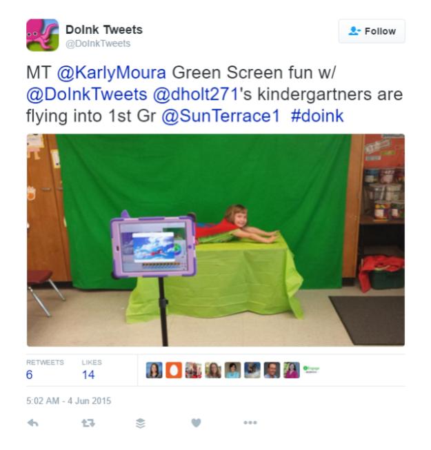 fly green screen