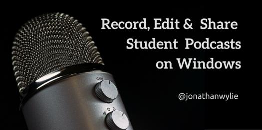 student podcasts windows