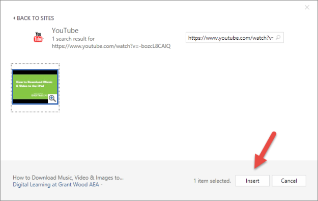 How To Add A YouTube Video To Word, PowerPoint & OneNote