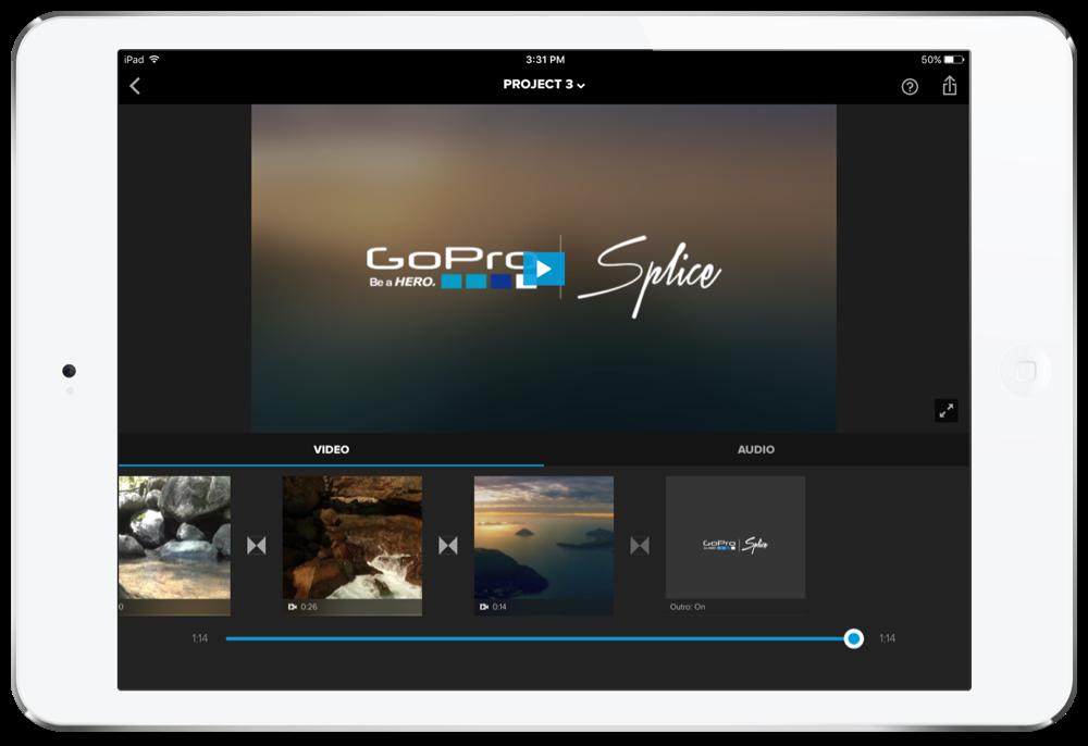 Splice video editor