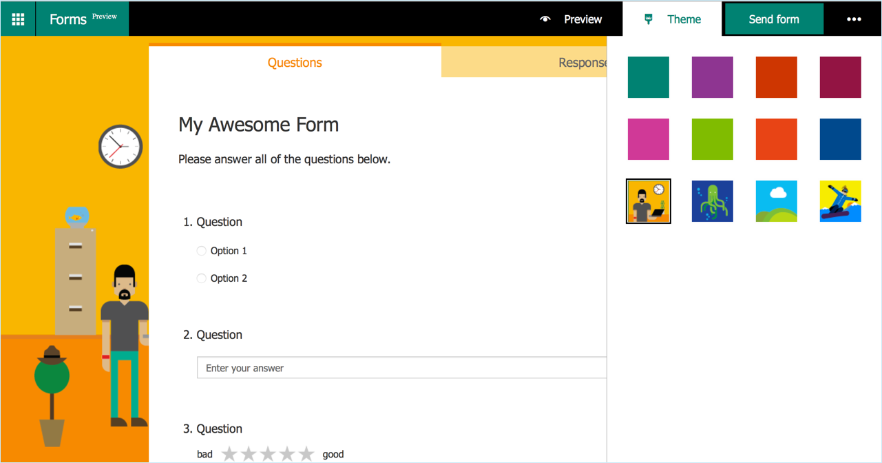 how to use microsoft forms in office 365 education jonathan wylie