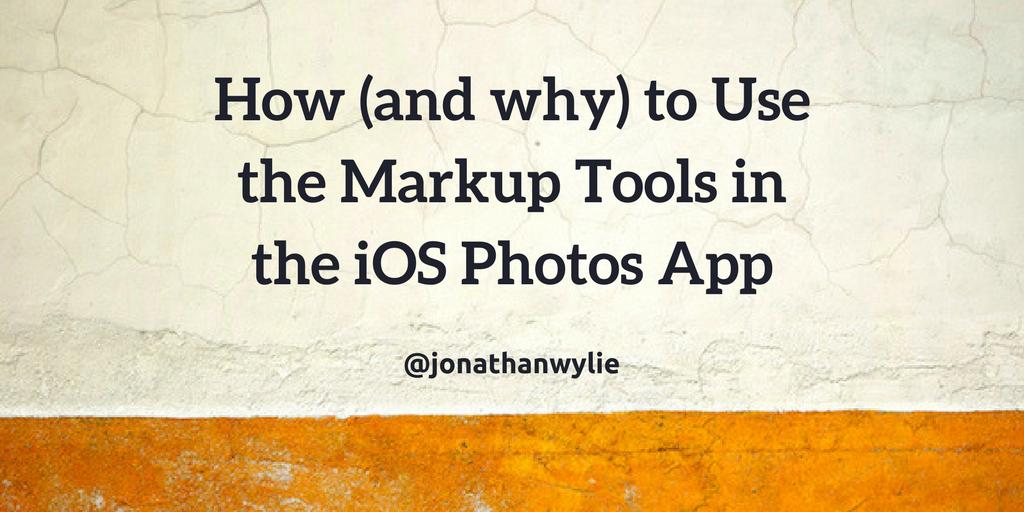 ios markup tools