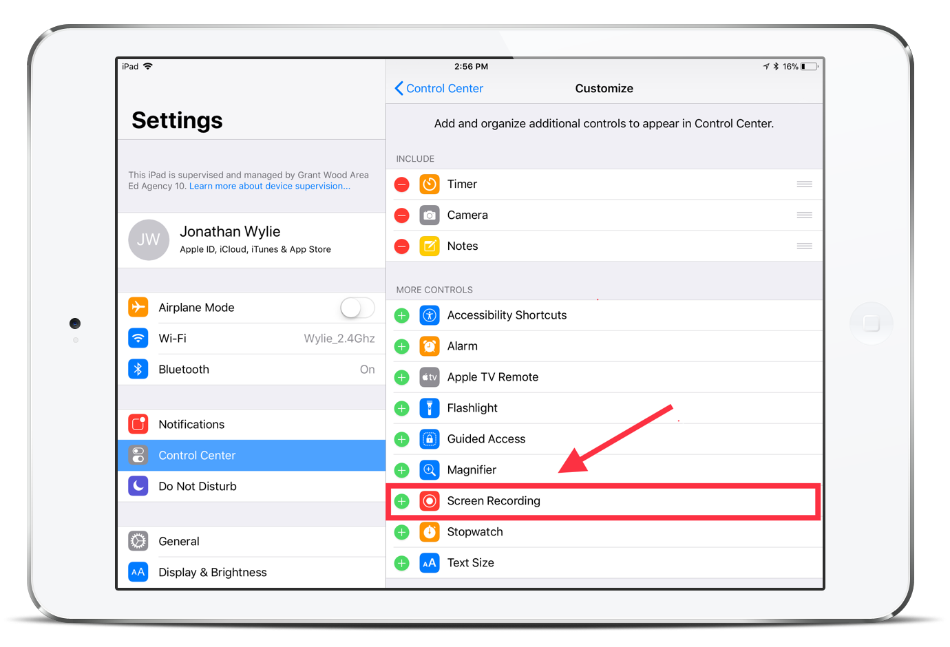 how to record your ipad screen in ios 11 jonathan wylie