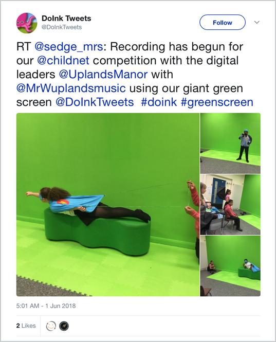 Green Screen Tips from Teachers on Twitter