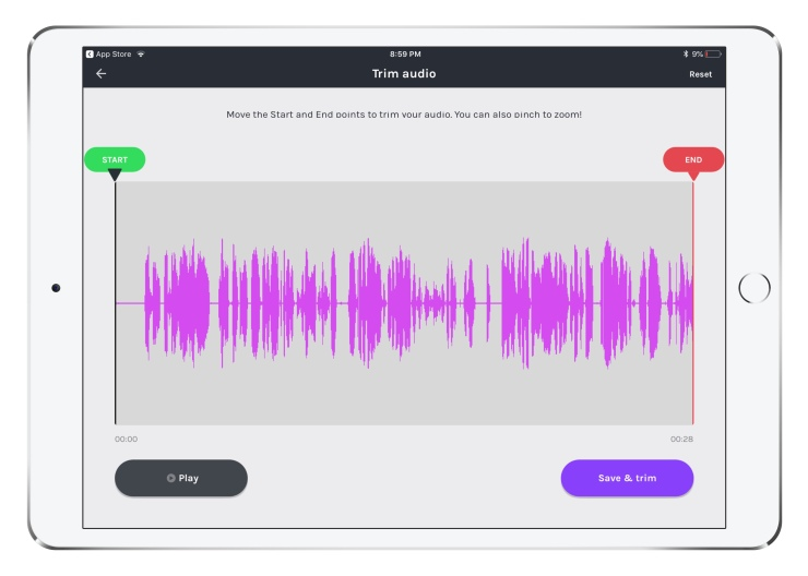 how to insert an i cloud drive audio into imovie